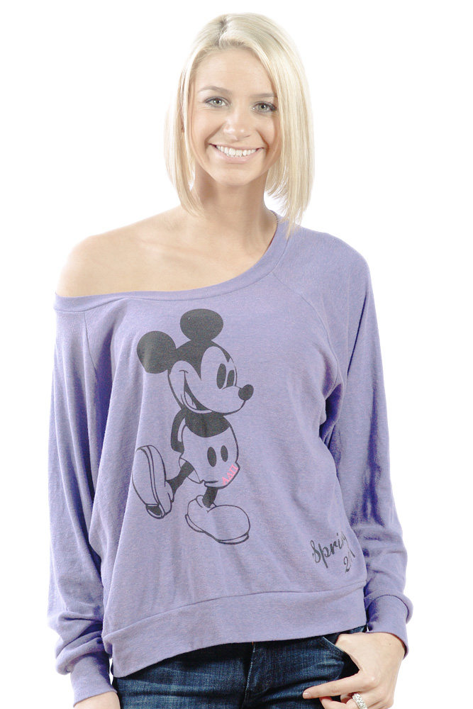 Mickey Mouse Raglan