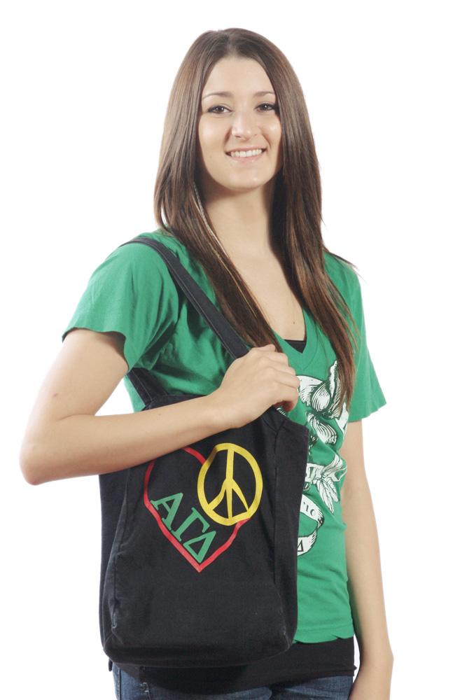 Peace Love Tote